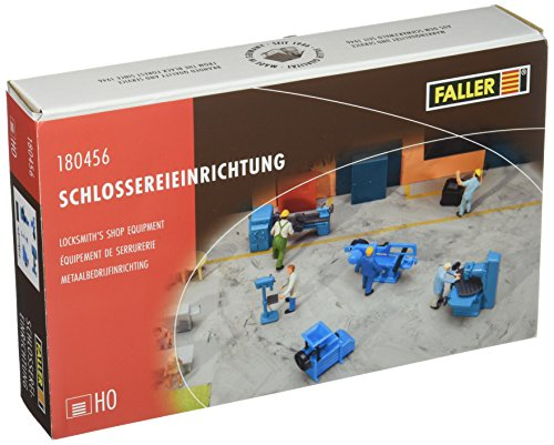 Faller 180456 Locksmith's Shop Equipment Scenery and Accessories