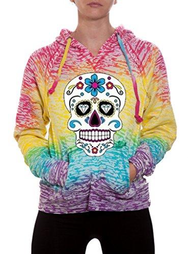 Diamond Skull Sweatshirt - 5
