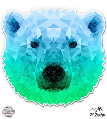 GT Graphics Polar Bear Geometric - 3