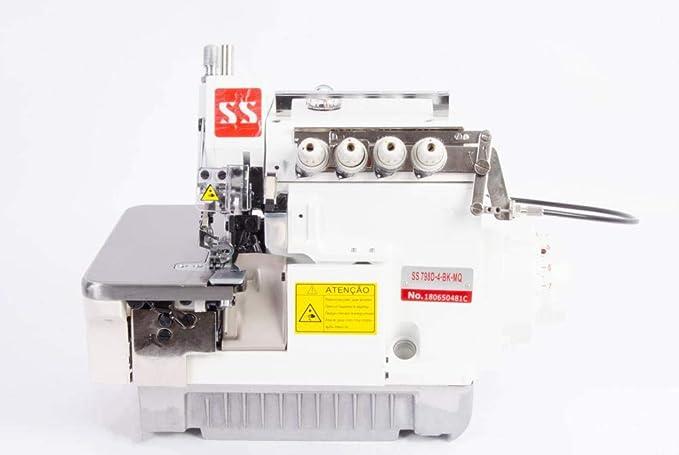 Máquina de Costura Overlock Ponto Cadeia Eletrônica Ss798d-4-bk-mq Sun Special por Sun Special