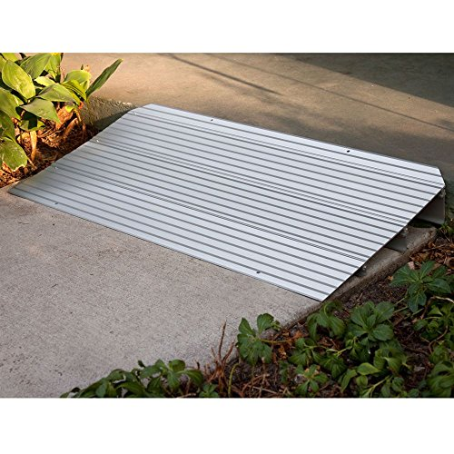 Silver Spring Rage Powersports THR1 Aluminum Threshold Ramp by Silver Spring (Image #2)