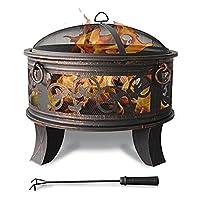 Grill Corten bronze XXL Grill günstig kaufen ✔ rund ✔ rostig (Edelrost)