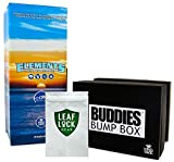 Bundle - 3 Items - Elements Pre-Rolled Cone 800 Pack (King Size), Buddies King Size Bump Box Cone Filler with Leaf Lock Gear Smell Proof Bag