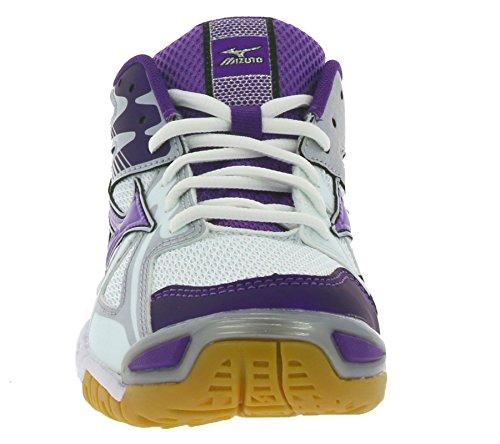MizunoWave Bolt 4 - Zapatillas Deportivas para Interior Mujer Morado - violeta