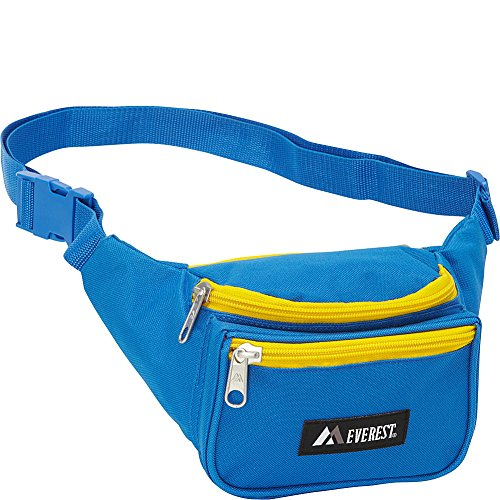 Everest Signature Waist Pack - Standard (Royal Blue/Yellow)