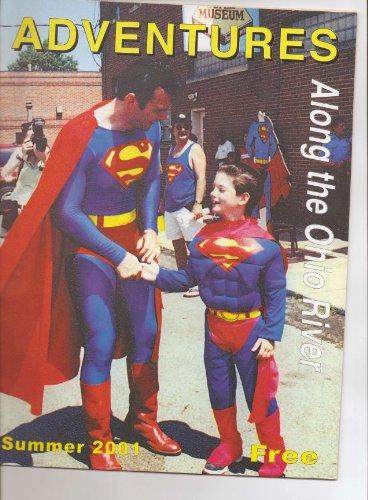 2001 Superman Statue Cover Adventure Magazine