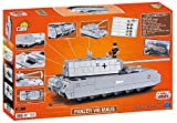 World of Tanks, COBI 3024, SDKFZ 205 PZKF VII MAUS, Small Army Model Kit, 900 building bricks