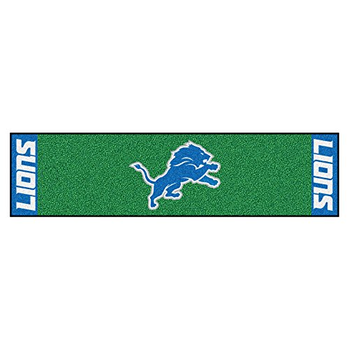 Nfl Putting Green Mat - FANMATS NFL Detroit Lions Nylon Face Putting Green Mat
