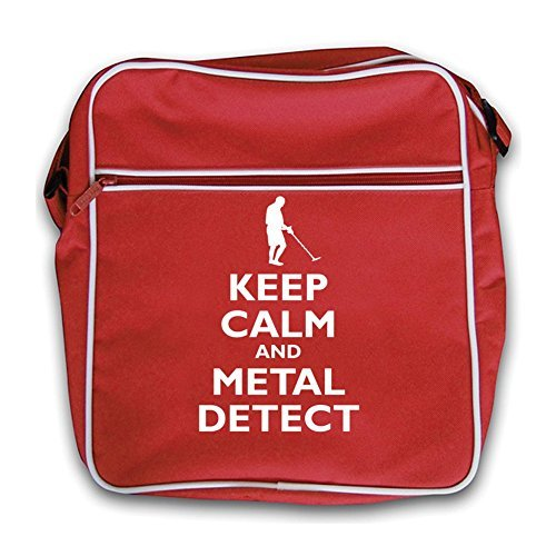 Bag Retro Black Flight Calm Detect Keep Metal Red and vwYzwqI