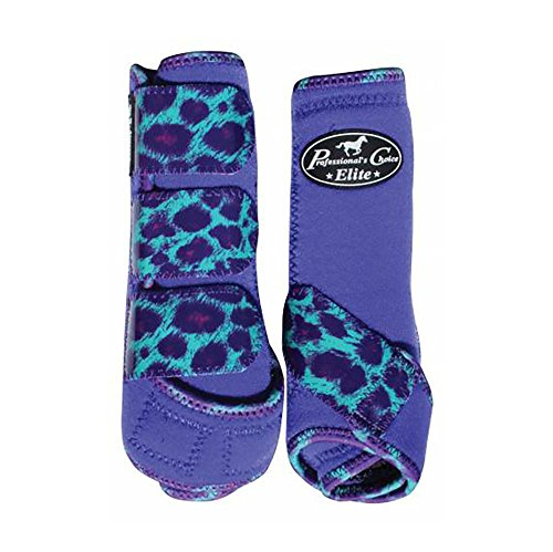 Professional`S Choice VenTech Elite 4 pack boot M Leopard/Purple by Professional`S Choice