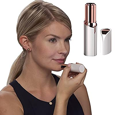 Flawless Hair Remover, Mini Painless Facial Hair Removal for Women