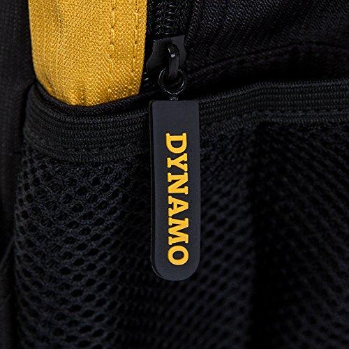 SG Dynamo Dresden Rucksack KIDS schwarz-gelb