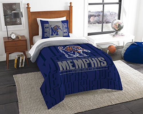 - The Northwest Company Officially Licensed NCAA Memphis Tigers Modern Take Twin Comforter and Sham