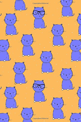 Download Bullet Journal Notebook For Cat Lovers Purple Cats On Orange: 112 Page Numbered Dot Grid Bullet Journal With Index Pages and Key Pages In Portable 6 x 9 Size (My Favorite Dot Journal 2) (Volume 10) PDF