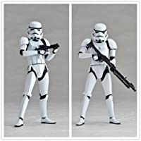 Star Wars Sci-fi Kaiyodo Revo Revoltech Stormtrooper Action Figure Doll No Box