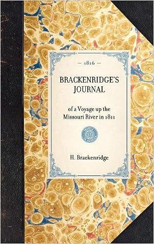 Brackenridge's Journal: Reprint of the 2d edition