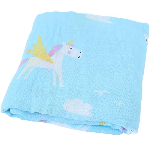 LifeTree Muslin Swaddle Blankets Girls product image