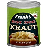 Franks Kraut Hot Dog, 8-ounces (Pack of12)
