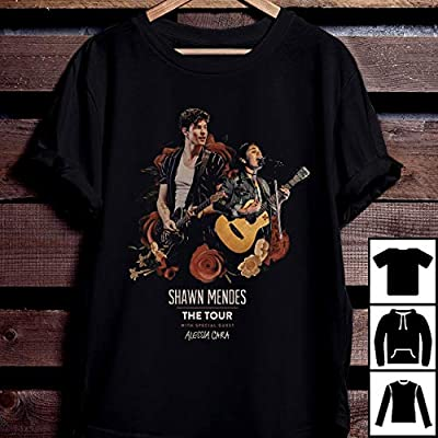 Shawn Mendes The Tour 2019 with Special Guess Alessia Cara T Shirt Shawn Mendes The Tour 2019 T-Shirt Long Sleeve Sweatshirt Hoodie