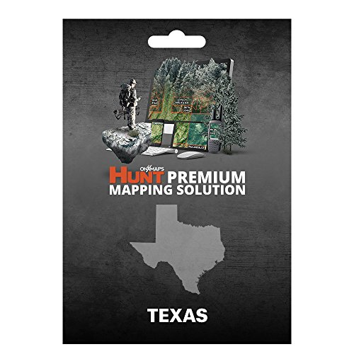 onXmaps HUNT Texas: Digital Hunting Map For Garmin GPS + Premium Membership For Smartphone and Computer Color Coded Land Ownership 24k Topo Hunting Specific Data