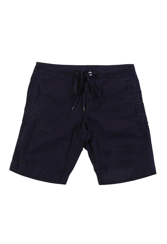 VELVET BY GRAHAM & SPENCER Men's Cristobal Woven Short with Flat Front Pockets, Neptune/Navy, 34