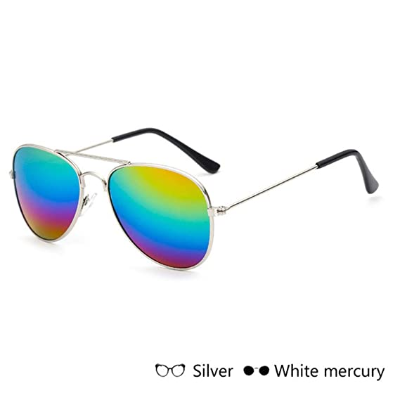 Wang-RX Moda para niños Gafas de sol para niños Piolt Style ...