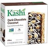 Kashi,Layered Granola Bars, Dark Chocolate Coconut, Non-GMO Project Verified, 6.7 oz, 6 Count(Pack of 6)