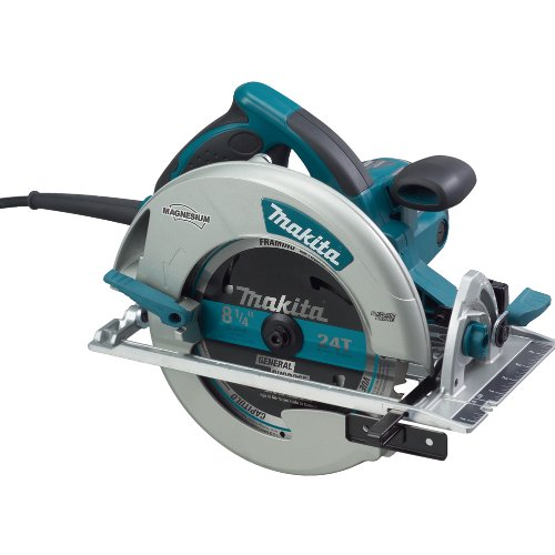 Makita 5008MGA Magnesium 8-1/4-Inch Circular Saw with Electric (Lights Electric Brake)