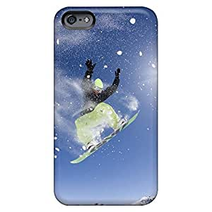 Design phone carrying case cover High Grade covers iphone 6 plusd 5.5 - snowboarding