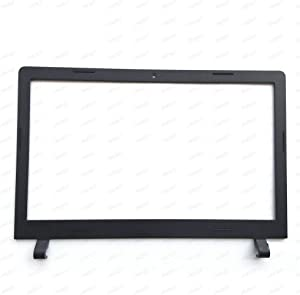 "Andet Original Compatible with Replacement for Lenovo Ideapad 100-15 B50-10 100-15IBY 15"" Laptop LCD Rear Lid Back Cover Top Case Front Bezel Black AP1HG000100 AP1ER000200 (LCD Bezel)"
