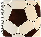 PS Creations - gran balón de fútbol - arte deportivo - libro de dibujo