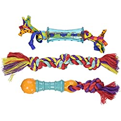Dental Teeth Cleaning Chew Toys for Small Dogs, Dog Chew Toys for Petstages