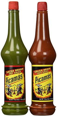 (Picamas Hot Sauce & Salsa Brava 7.05 oz. from Guatemala (2 Pack))