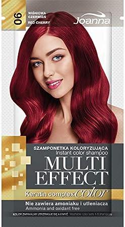 Joanna Tinte Multiefecto Colorante 06 Rojo Cereza 35 G