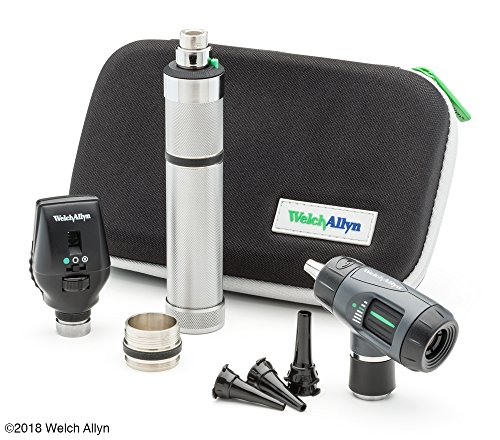 Ophthalmoscope Otoscope (Welch Allyn Standard Diagnostic Set feat. Coaxial Ophthalmoscope, MacroView Otoscope and Nickel Cadmium Rechargeable Handle)