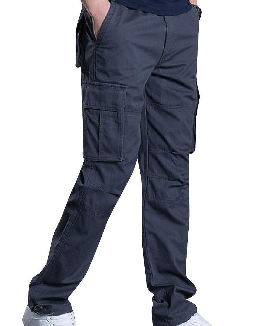 Zimaes-Men Relaxed-Fit Messenger Openwork High Street Sweatpants