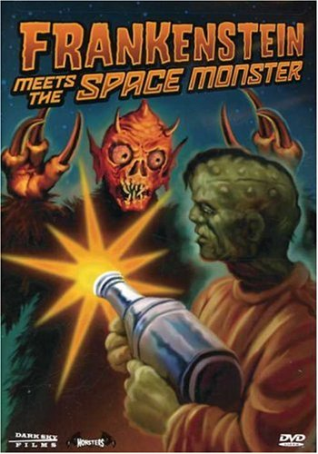 DVD : Frankenstein Meets the Space Monster