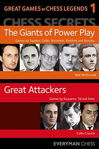 Great Games By Chess Legends - Neil Mcdonald, Colin Crouch
