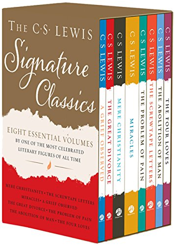 The C. S. Lewis Signature Classics (8-Volume Box Set): An Anthology of 8 C. S. Lewis Titles: Mere Christianity, The Screwtape Letters, Miracles, The ... The Abolition of Man, and The Four Loves by HarperOne