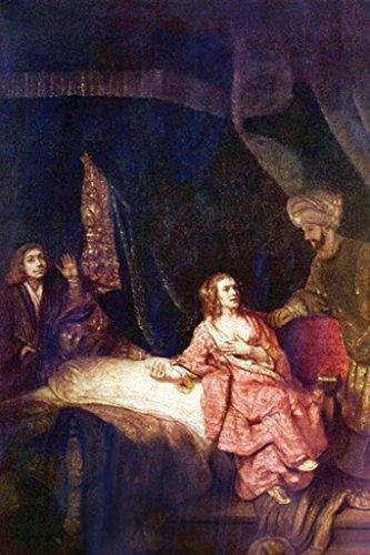 (ArtParisienne Joseph Accused by Potiphar's Wife Rembrandt 12x18-inch Paper Giclée Print)