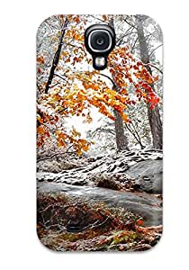 Hazel J. Ashcraft's Shop Best 5861003K27160041 Special Design Back Forest Phone Case Cover For Galaxy S4