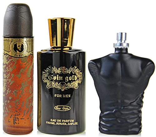 Parfum Set für Männer 3 knaller Düfte Eau de Toilette