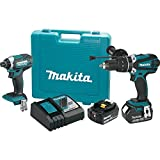 Makita XT263M 4.0 Ah 18V LXT Lithium-Ion Cordless Combo Kit (2 Piece)