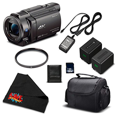 Sony 4K HD Video Recording FDRAX33 Handycam Camcorder-Starter, used for sale  Delivered anywhere in USA