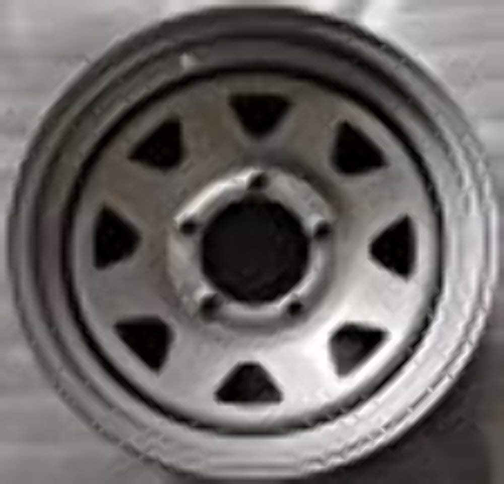 NEW 16'' STEEL WHEEL RIM FORD F150-E150 SILVER SPOKE 16x7 5x5.5 (5x139.7) 16555SP FORD