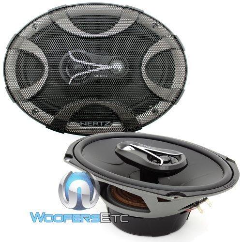 "Hertz ECX-690.5 6"" x 9"" 300W 3-Way Energy Series Coaxial Speakers"
