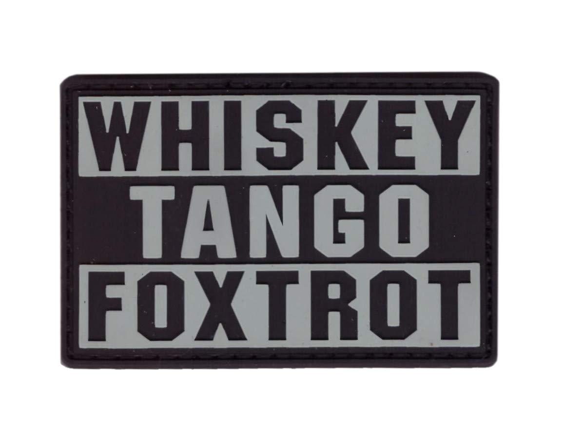 Tactical Whiskey Tango Foxtrot Morale PVC Tactique /Écusson Titan One Europe