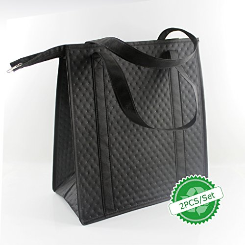 BAGHOME 2PCS Insulated Shopping Bag,Insulated Grocery Bag,Grocery Cooler bag