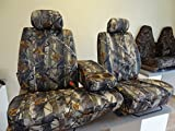 60 40 seat cover camo - 2000-2004 Toyota Tundra Seat Covers 40/60 Split Seat with Adjustable Headrest and Center Console in Camo Endura