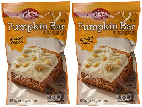 Betty Crocker Pumpkin Bar Mix 17.5 Oz (Pack of 2)]()